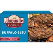 Johnsonville Buffalo Blue Brat Patties 24oz 6ct box (102505) Grillers