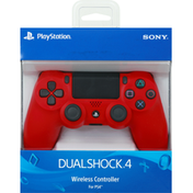 PlayStation Wireless Controller, Magma Red