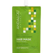 Andalou Naturals Hair Mask, Deep Conditioning, Exotic Marula Oil