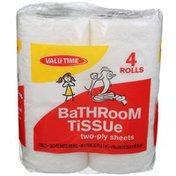 Valu Time 2 Ply Bath Tissue