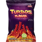 Sabritas Turbos Flamas Flavored Corn Snacks