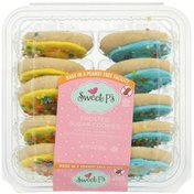 Sweet P's Frosted Sugar Cookies, Vanilla