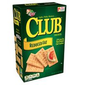 Keebler Club Crackers Crackers Reduced Fat