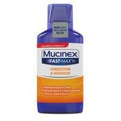 Mucinex® Fast-Max Adult Cold and Sinus Liquid