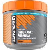 Gatorade Endurance Orange Thirst Quencher Powder