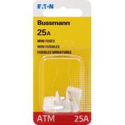 Bussmann Mini Fuses, 25A