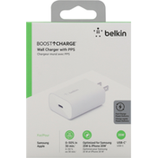 Belkin Wall Charger with PPS, USB-C, 25W