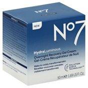 No7 Gel Cream, Overnight Recovery, Night