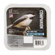 Companion Wild Bird Food High Energy Suet Cake