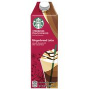 Starbucks Discoveries Gingerbread Latte Chilled Espresso Beverage