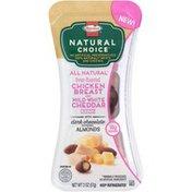 Hormel Natural Choice Chicken Breast/White Cheddar/Dark Chocolate Almonds