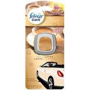 Febreze CAR Vent Clip Vanilla Latte Air Freshener (1 Count, 2 mL) Air Care