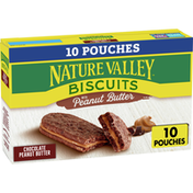 Nature Valley Chocolate Biscuits with Peanut Butter, 10 Count