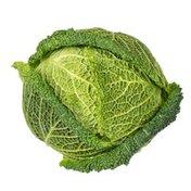 Organic Savoy Cabbage