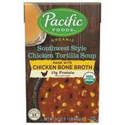Pacific Organic Southwest Style Chicken Tortilla Soup with Chicken Bone Broth