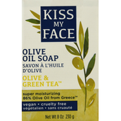 Kiss My Face Olive Oil Soap, Olive & Green Tea
