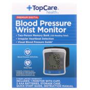 TopCare Premium Digital Blood Pressure Wrist Monitor