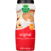 Food Club Coffee Creamer, Non-Dairy, Original
