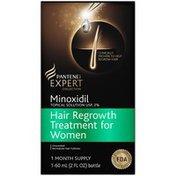 Pantene Minoxidil Pantene Minoxidil Topical Solution USP, 2% Hair Regrowth Treatment For Women 30 Day Supply 2 Fl Oz  Female Hair Care