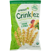 Sprout Popped Chickpea & Veggie Snack, Organic, Cheddar & Spinach
