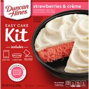 Duncan Hines Easy Cake Kit, Strawberries & Creme