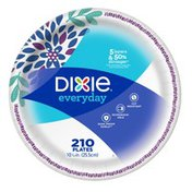 Dixie Everyday 10 1/16 in Plates - 210 CT