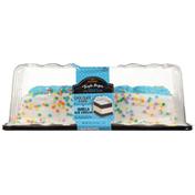 Jon Donaire Triple Layer Chocolate Cake + Vanilla Ice Cream Premium Ice Cream Cake