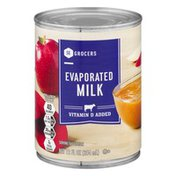 Southeastern Grocers Milk Evaporated
