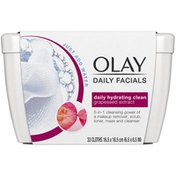 Olay Daily Hydrating Cleansing Cloths Tub w/ Grapeseed Extract