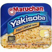 Maruchan Yakisoba Four Cheese Flavor Noodles