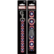 Buckle-Down Small Captain America Collar & Leash Set for Dogs