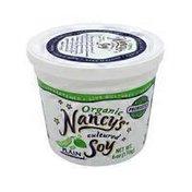Nancy's Plain Unsweetened Cultured Soy