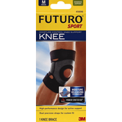 Futuro Knee Support, Moisture Control, Moderate Support, Medium