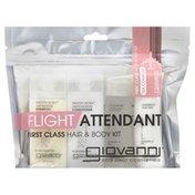 Giovanni Hair & Body Kit, First Class, Flight Attendant