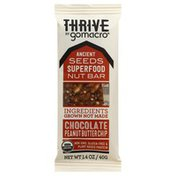 GoMacro Nut Bar, Ancient Seeds Superfood,  Chocolate Peanut Butter Chip