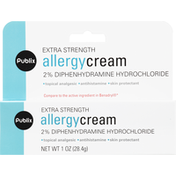Publix Allergy Cream, Extra Strength