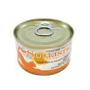 Soulistic Chicken & Salmon Dinner In Gelee Pate & Shreds Cat Food