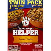 Hamburger Helper Cheesy Taco, Twin Pack