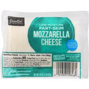 Essential Everyday Cheese, Mozzarella, Low-Moisture Part-Skim