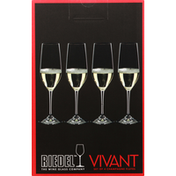 RIEDEL Champagne Flute Crystal Glass