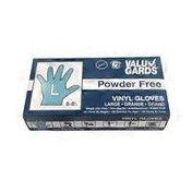 Valu Gards Case Of Valu Gards Vinyl Gloves Large Powder Free