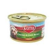 Kaytee Chicken & Duck Recipe Grain Free, Gluten Free Ferret DIet