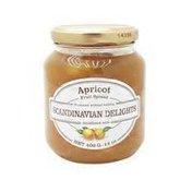 Scandinavian Delights Apricot Fruit Spread