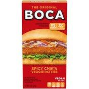 Boca Spicy Vegan Chik'n Veggie Patties