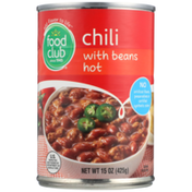 Food Club Hot Chili With Beans