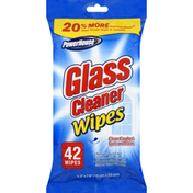 PowerHouse Wipes, Glass Cleaner