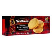 Walkers Shortbread Pure Butter, Shortbread Highlanders