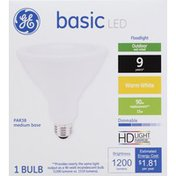 GE Light Bulb, LED, Warm White, 15 Watts
