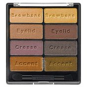 Black Radiance Eye Appeal Shadow Collection, Downtown Browns