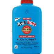 Gold Bond Foot Powder, Maximum Strength, Unique Triple Action Relief